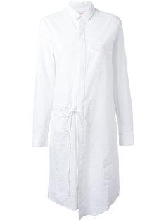 платье-рубашка с присборенным поясом A.F.Vandevorst
