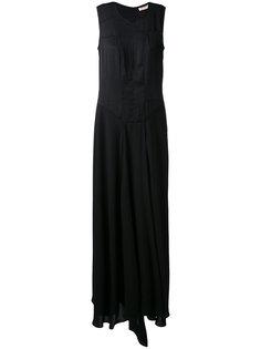 длинное платье с панельным дизайном A.F.Vandevorst