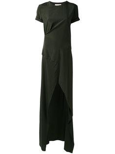 платье-футболка с шлицей спереди A.F.Vandevorst
