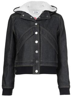 джинсовая куртка с капюшоном Courrèges