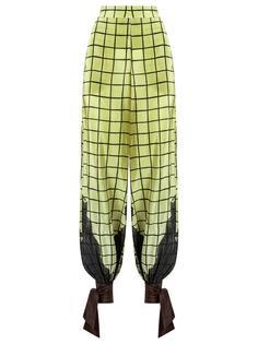 high-waisted trousers Adriana Degreas