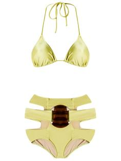 triangle bikini set Adriana Degreas