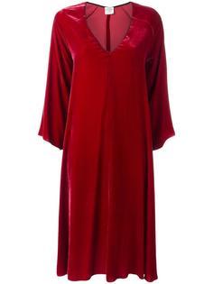 платье с V-образным вырезом My Dress Forte Forte
