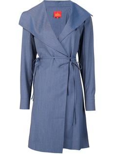 платье с запахом и длинными рукавами Vivienne Westwood Red Label