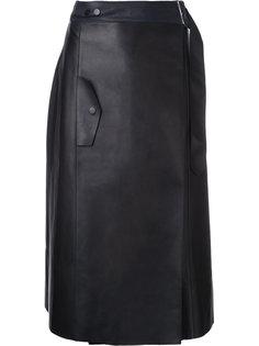 юбка с запахом  Dion Lee