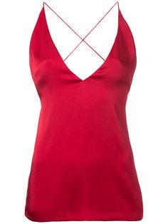 блузка с открытой спиной  Dion Lee