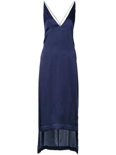 платье с V-образным вырезом Dion Lee