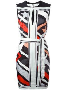 платье без рукавов с геометрическим принтом Emilio Pucci