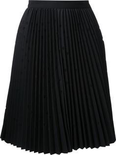 плиссированная юбка в горох MSGM
