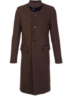 пальто миди с заостренными лацканами Umit Benan