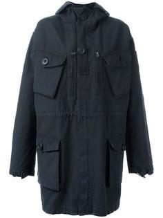 пальто с капюшоном и накладными карманами Faith Connexion