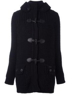 куртка с меховым капюшоном Bark