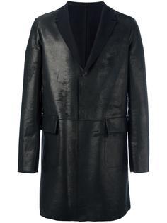 кожаное пальто Salvatore Santoro