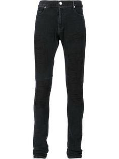 джинсы скинни с вышивкой Rta