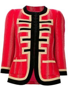 твидовый пиджак из люрекса Givenchy