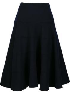 пышная юбка миди  Victoria Beckham