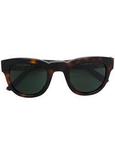 солнцезащитные очки в черепаховой оправе Sun Buddies