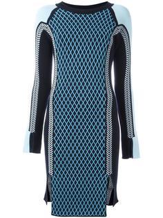 спортивное трикотажное платье Versace