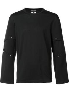 футболка с отделкой в рубчик Comme Des Garçons Homme Plus