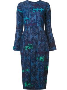 камуфляжное платье Maki Oh