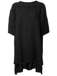 тканая футболка с необработанными краями Faith Connexion