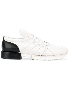 кроссовки с эластичными шнурками A.F.Vandevorst