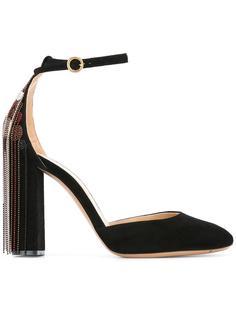 туфли с бисерными нитями Chloé