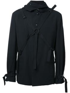 куртка с регулируемыми ремешками Yohji Yamamoto