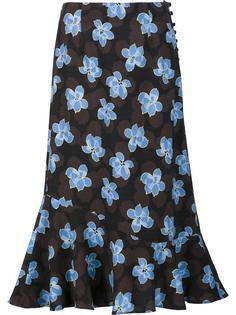 юбка с цветочным принтом Suno