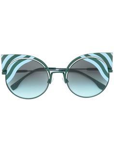 солнцезащитные очки Hypnoshine Fashion Show Fendi Eyewear