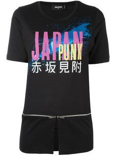 футболка с принтом Japan Punk Dsquared2