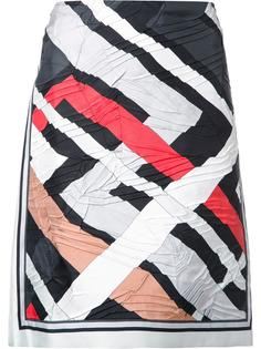 юбка с геометрическим принтом Emilio Pucci