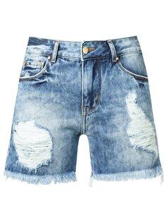 distressed denim shorts Amapô
