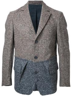 вязаный пиджак с карманами с клапанами Wooster + Lardini