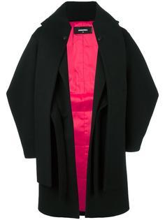 многослойное пальто Dsquared2