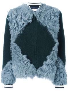 куртка бомбер с лоскутным дизайном Tory Burch