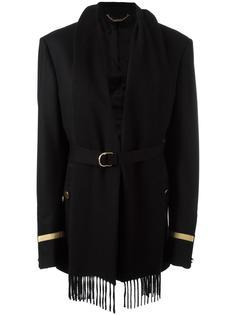 фланелевая куртка с элементом шарфа Givenchy