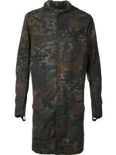 удлиненная рубашка с капюшоном 11 By Boris Bidjan Saberi