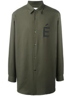 рубашка с принтом É  Études