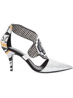 декорированные туфли с вырезными деталями Pierre Hardy