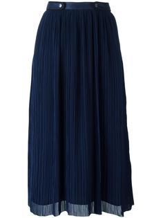 плиссированная юбка Kenzo