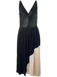плиссированное платье Cédric Charlier