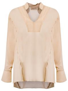 рубашка с V-образным вырезом Adriana Degreas
