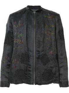 куртка-бомбер с вышивкой By Walid