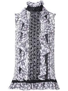 блузка без рукавов Giambattista Valli