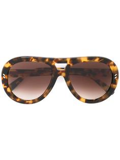 """солнцезащитные очки с оправой """"авиатор"""" Stella Mccartney Eyewear"""