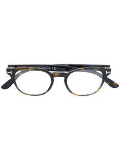 очки в оправе формы кошачий глаз Tom Ford Eyewear