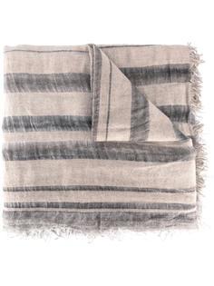 полосатый шарф с необработанными краями Faliero Sarti