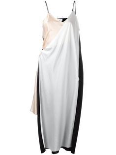 платье асимметричного кроя DKNY