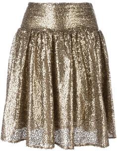 плиссированная юбка с пайетками Michael Michael Kors